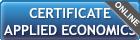 certificate-applied-econmics