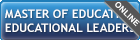 master of education - educational leadership