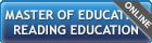 Master of Education - Reading Education
