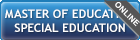 Master of Education - Special Education